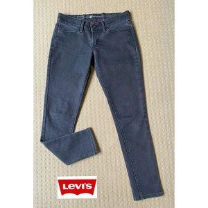 Levi's Demi Curve Black Skinny Jeans W27 L27
